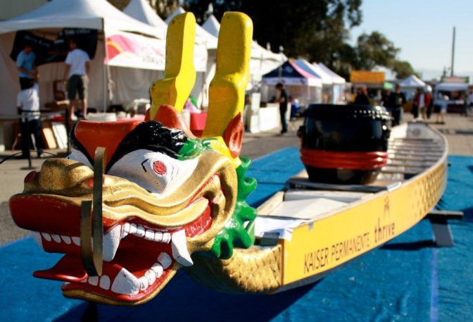 Dragonboat Head